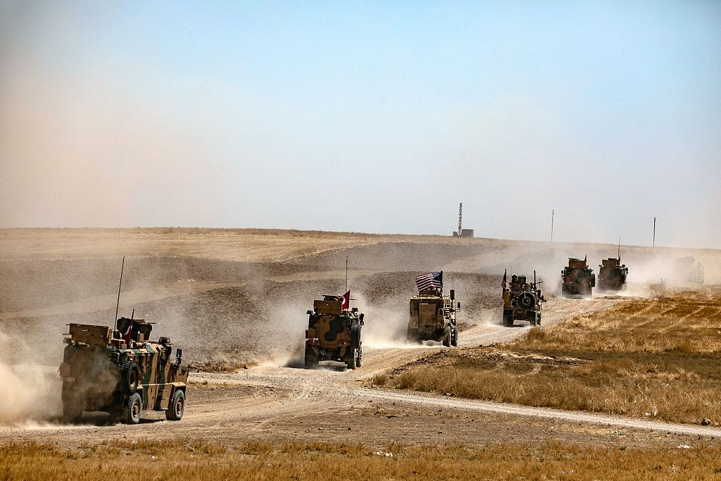 US, Turkey launch first joint ground patrol in planned Syria 'safe zone'