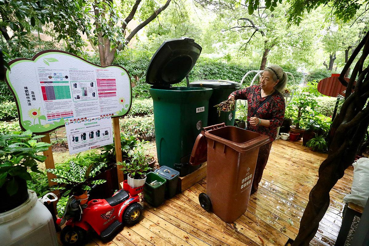 Shanghai leads nation in new era of garbage sorting