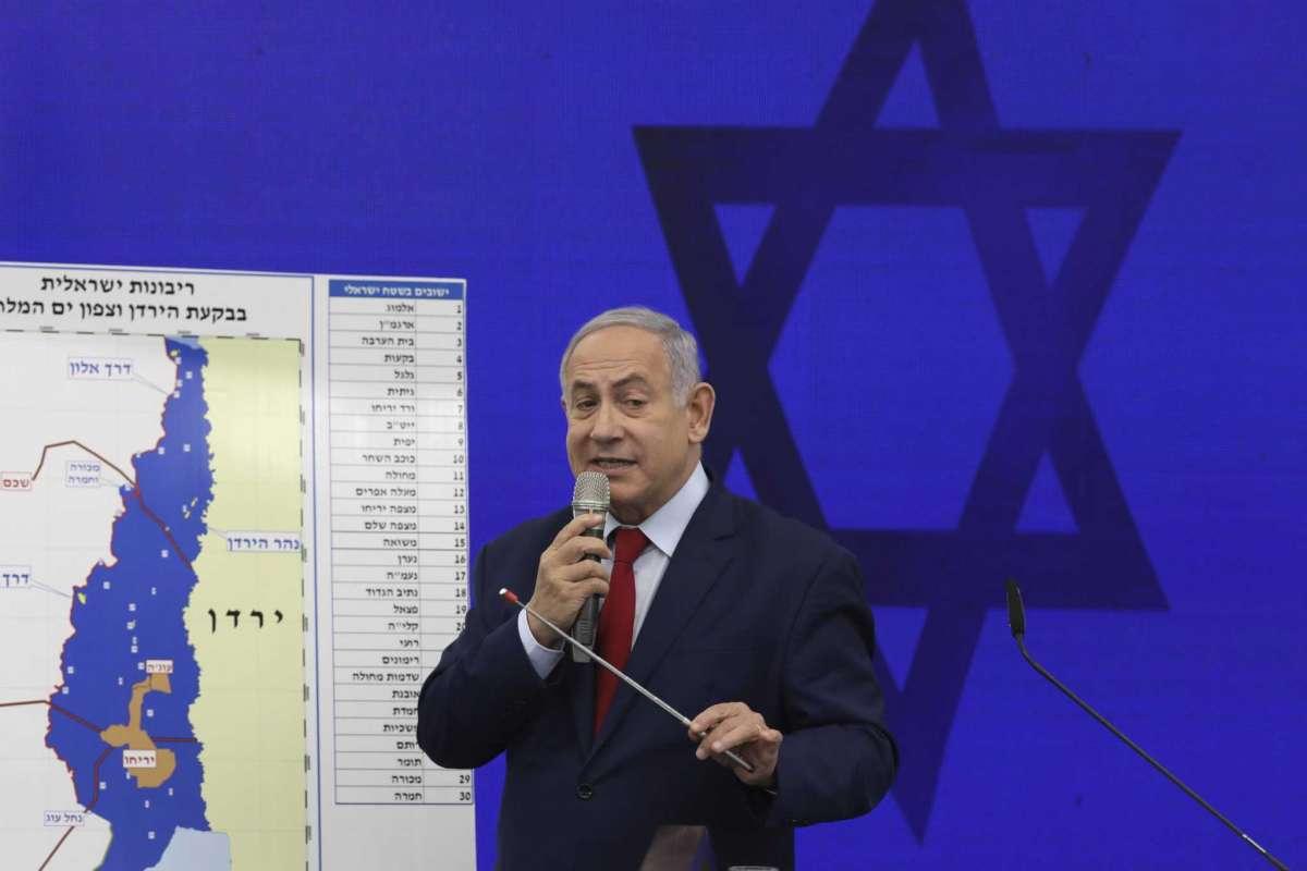 Israel hits Gaza after rockets disrupt Netanyahu rally