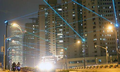 Beijing integrates pollution monitoring, traffic control, 5G station into street lights