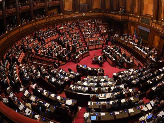 Italian new pro-Europe gov't wins confidence vote in senate