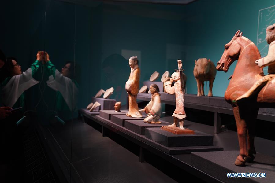 "Exhibition themed ""Everlasting Like the Heavens"" held in Beijing"