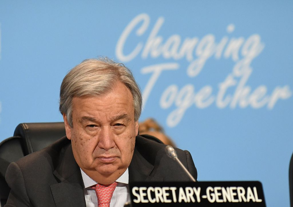 UN chief welcomes Cameroon's announcement of national dialogue on separatist crisis