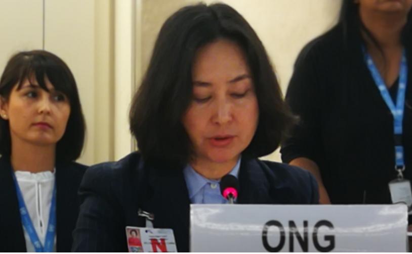 Women representative condemns Hong Kong violent protests
