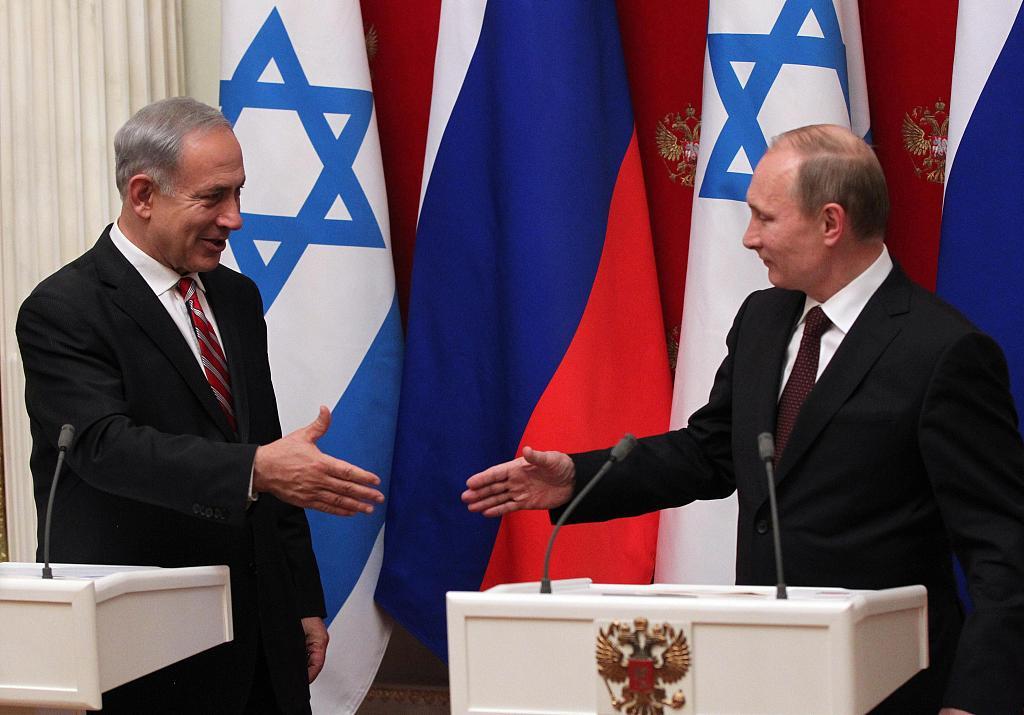 Netanyahu heads to meet Putin in Russian, discuss Iran