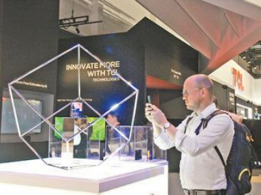 Chinese companies promote products at IFA