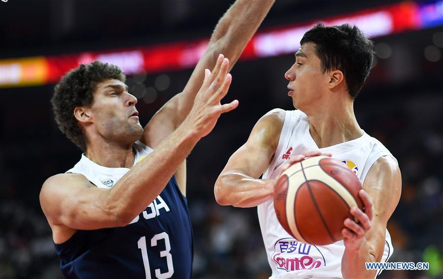 2019 FIBA World Cup classification games 5-8: U.S. vs. Serbia