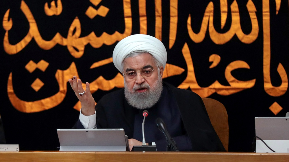 Rouhani urges US to end 'maximum pressure' on Iran