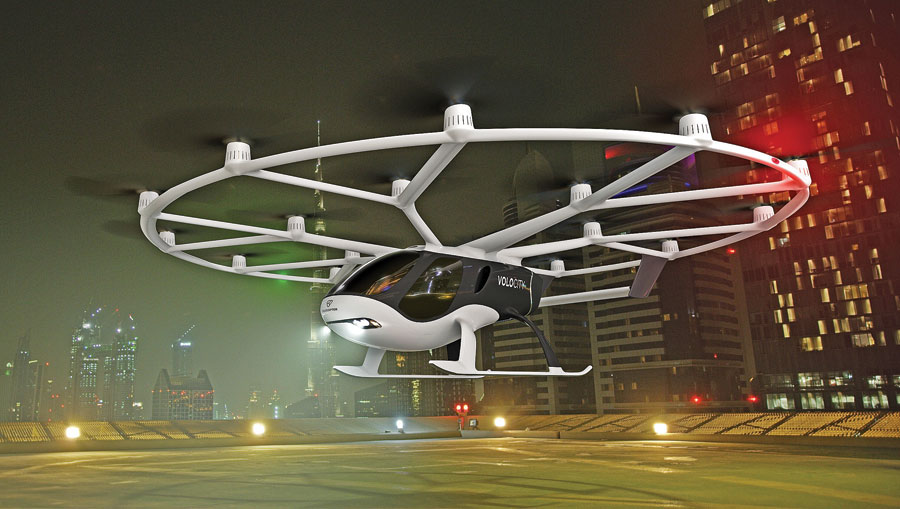 Geely invests heavily in German air taxi startup