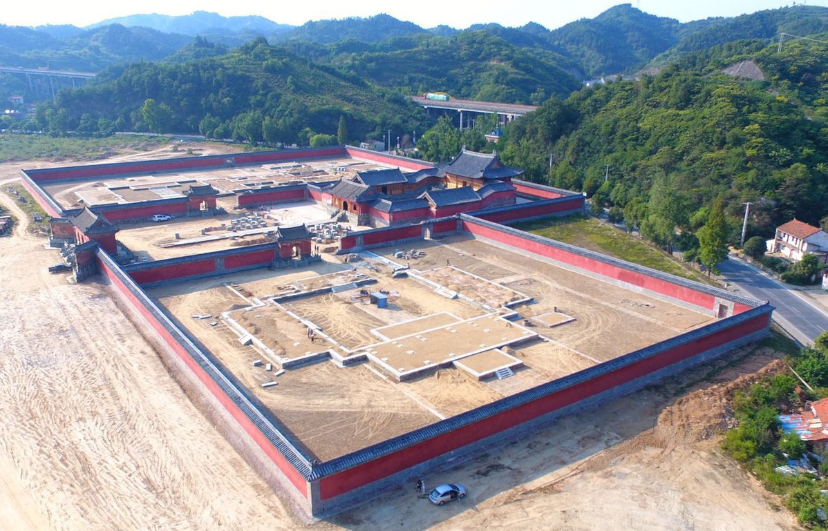 World record breaking work on Yuzhen Palace complete