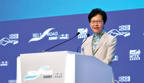Hong Kong 'can't afford to miss the boat' on BRI