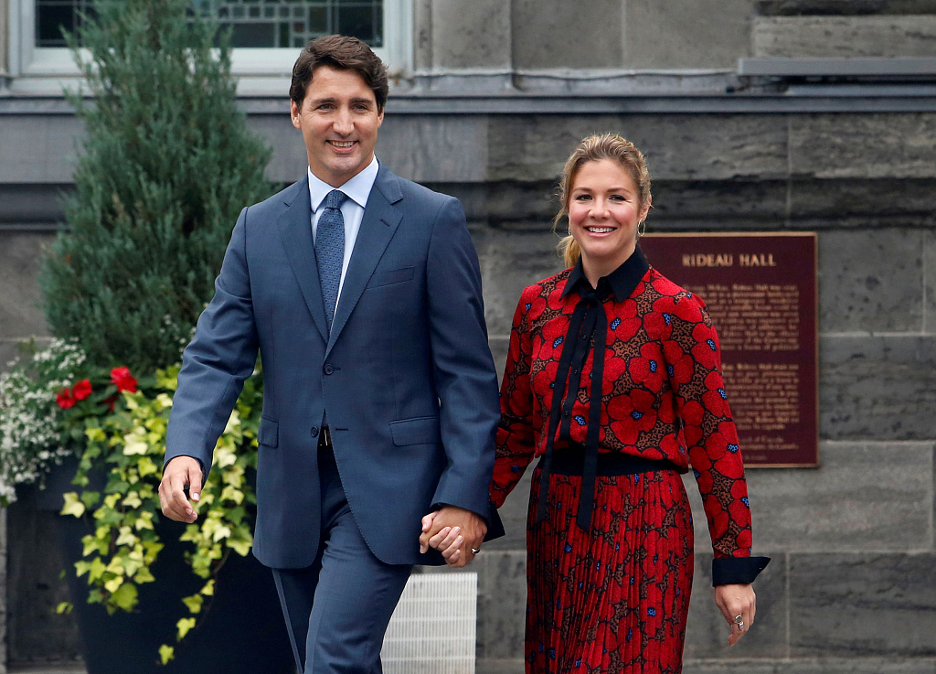 Trudeau launches campaign for October 21 Canada election
