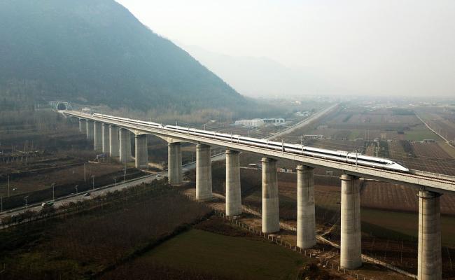Chinese high-speed railway wins int'l award