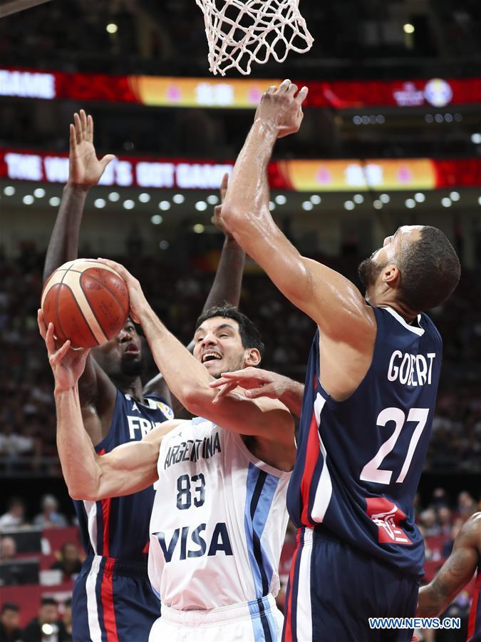 Highlights of FIBA semifinal match between Argentina and France