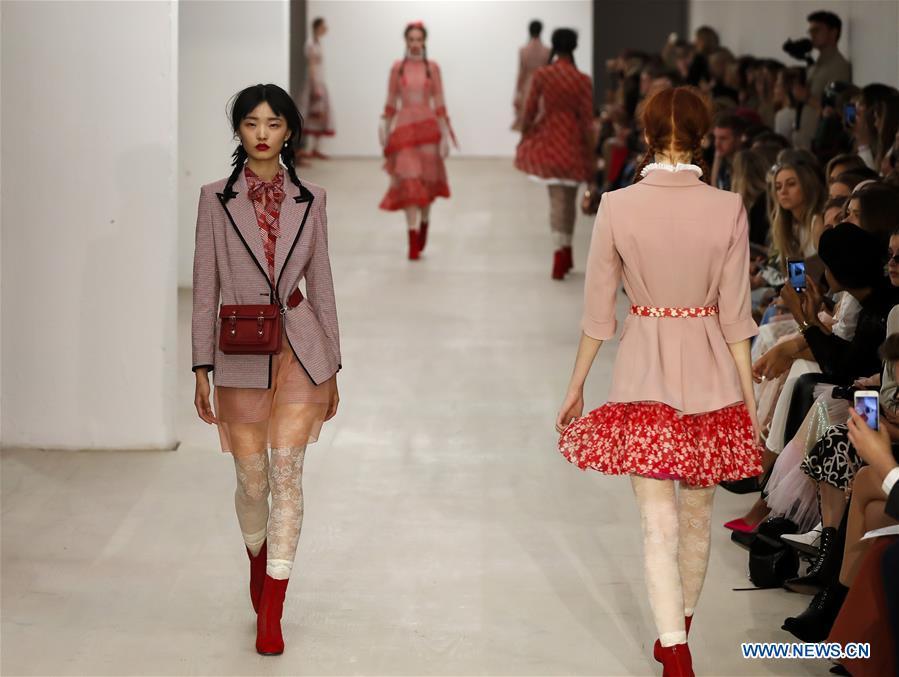 In pics: Bora Aksu show during London Fashion Week