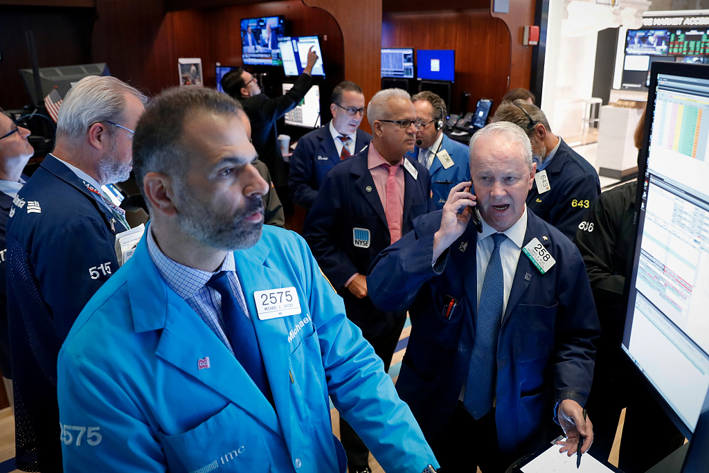 US stocks open mixed amid upbeat retail sales