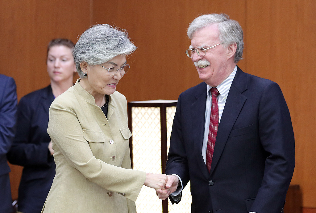 Trump: Bolton a disaster on DPRK, out of line on Venezuela