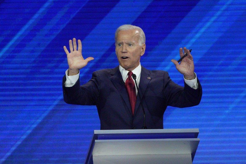 Biden looks like a front-runner, until he doesn't