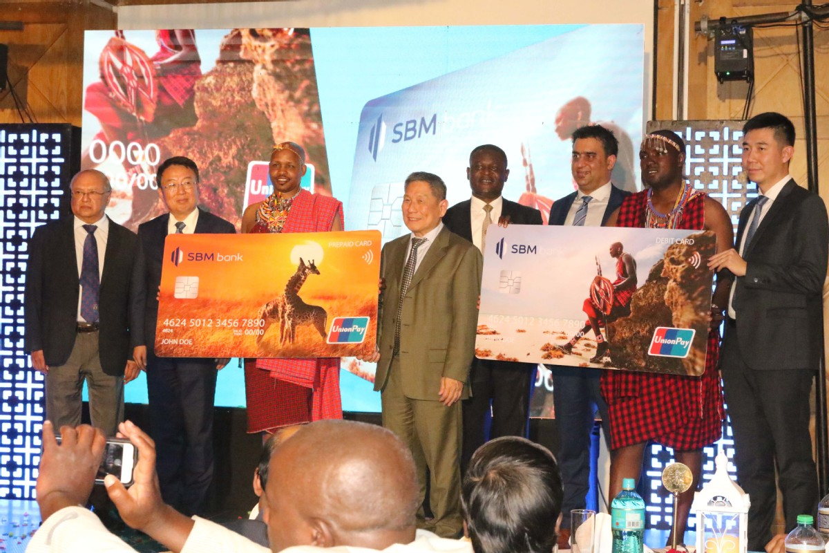 State Bank of Mauritius and China UnionPay launch cards in Kenya