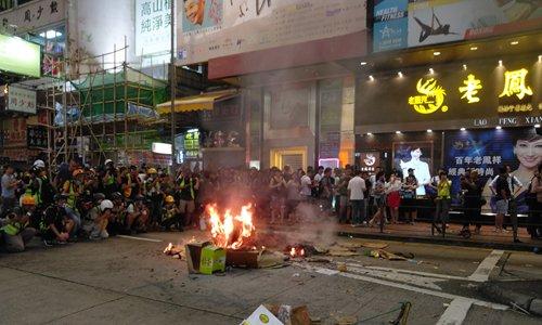 HK riots exacerbate life of drifters