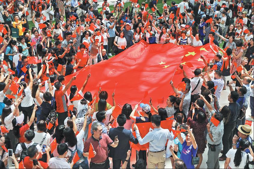 HK residents let anthem express their feelings