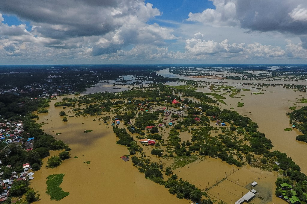 Thailand's northeast inundated after tropical storm