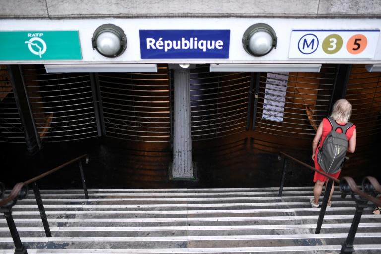 Paris traffic snarled as metro workers strike over pension reform
