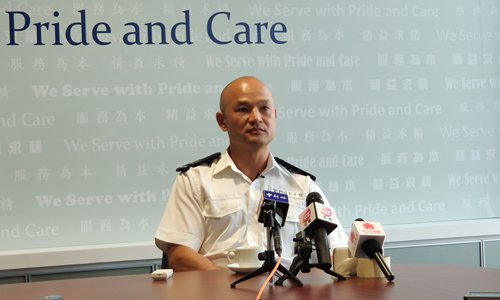 HK police recalls clash with rioters, calling end to violence