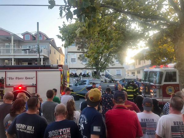 Deck collapses in Jersey Shore town, causing injuries