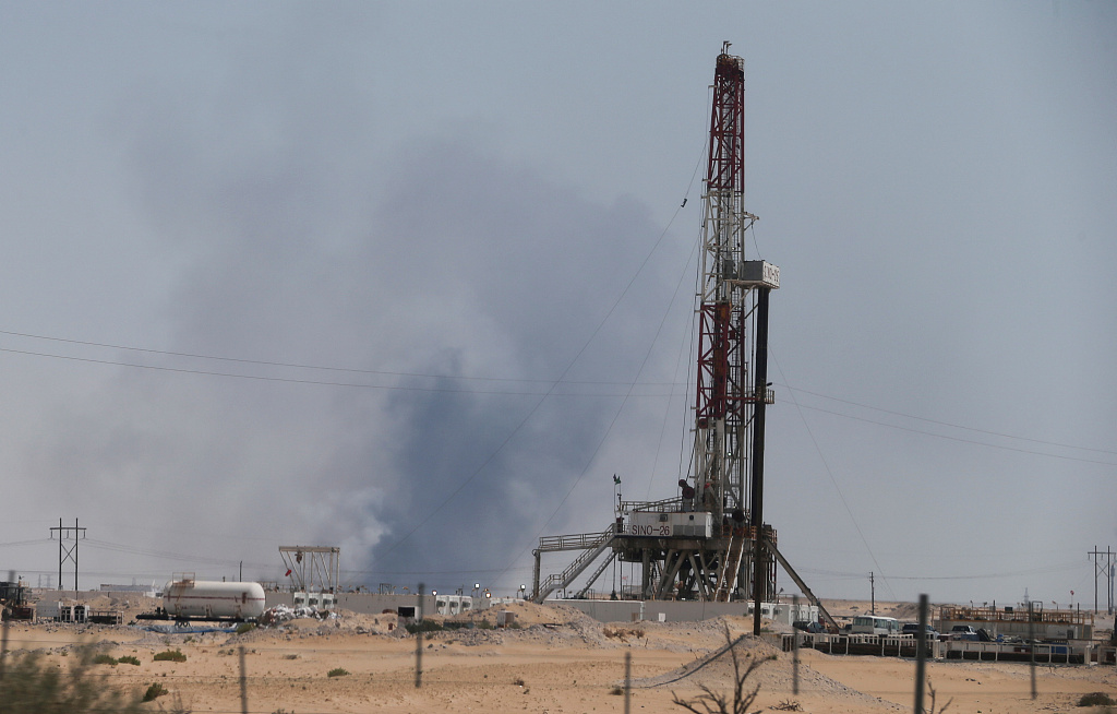 Attacks on Saudi oil facilities cause temporary suspension of oil production: minister
