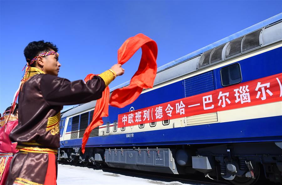 China sees expanding China-Europe freight rail services