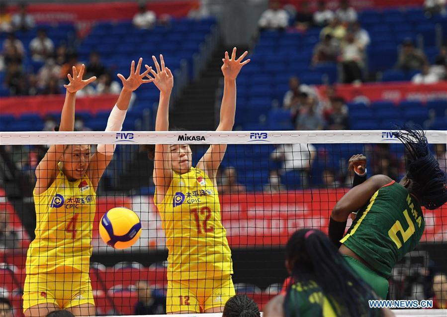 China beat Cameroon over 3-0 at 2019 FIVB Women's World Cup