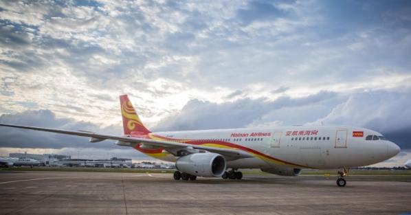 Hainan Airlines to start flight service between Chengdu, Chicago