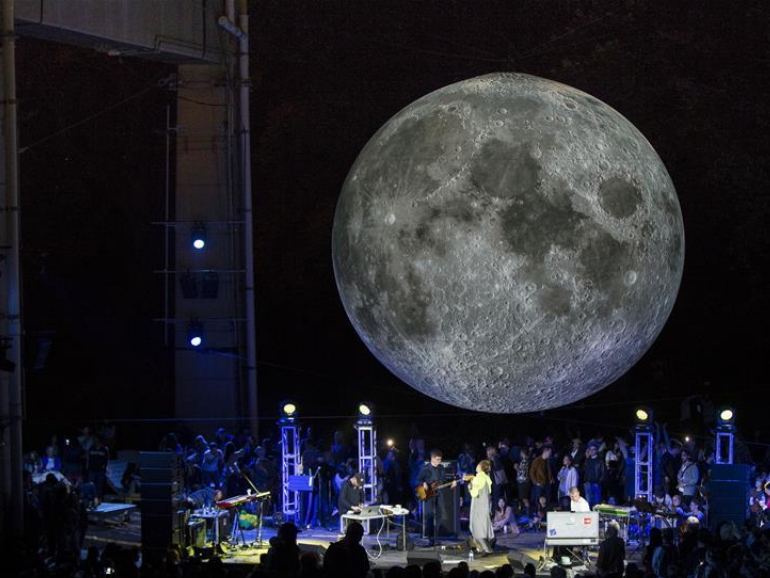 'Museum of the Moon' displayed in Toronto, Canada