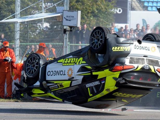 Qualifying race of Neste World RX of Latvia held in Riga