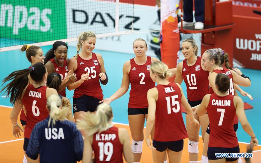 FIVB Women's World Cup: U.S. vs. Serbia