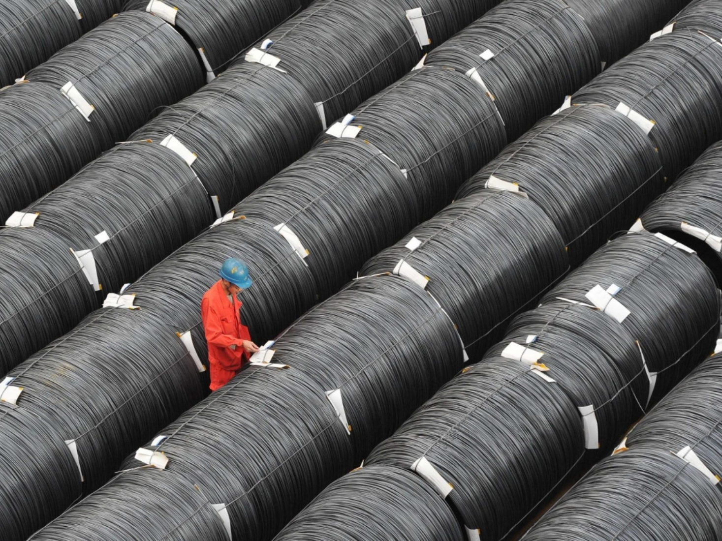 China commodities prices fall in August
