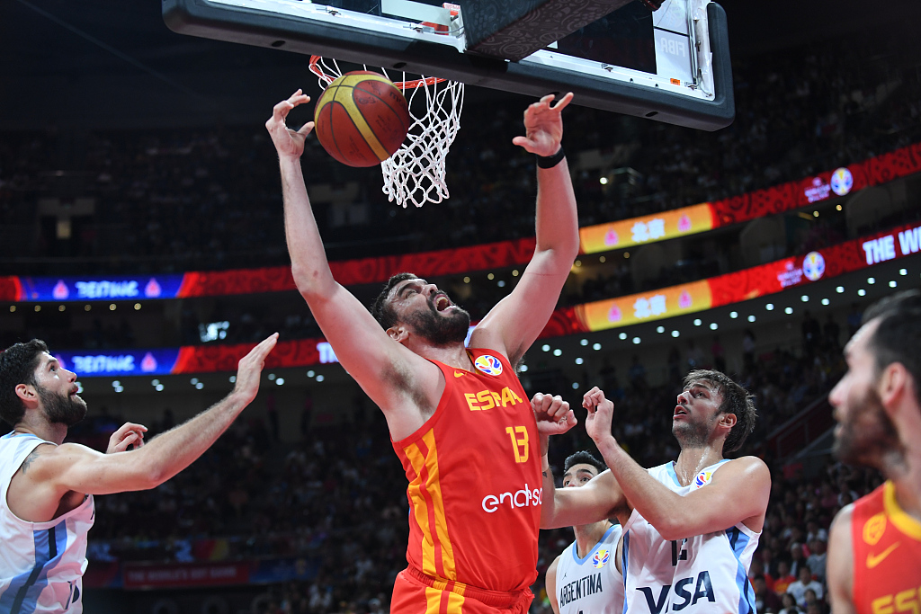 Spain beat Argentina to claim first FIBA World Cup title since 2006