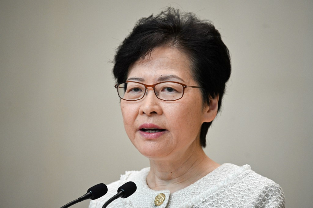 'We will certainly overcome difficulties,' says HKSAR chief executive