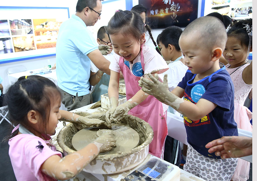 Children take part in activities for National Science Day