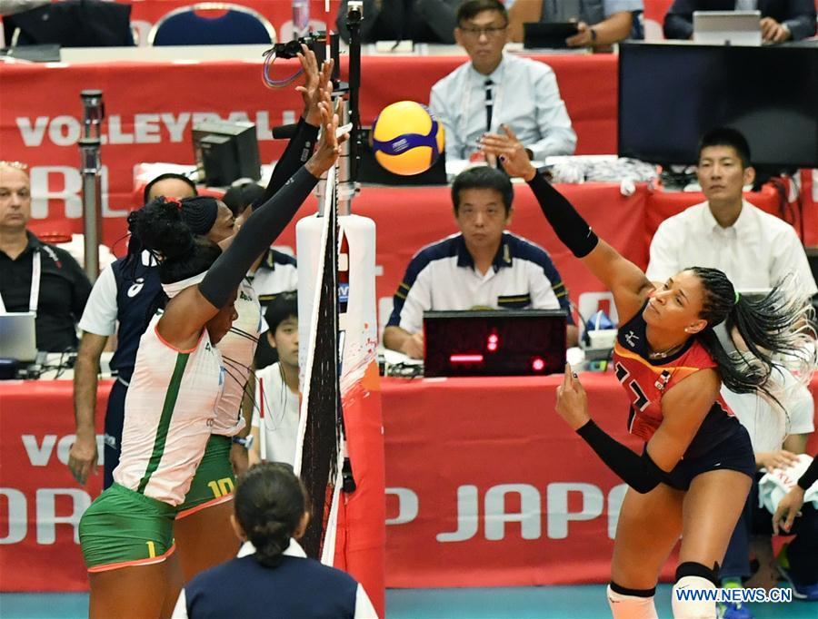 2019 FIVB Volleyball Women's World Cup: Dominican Republic vs. Cameroon