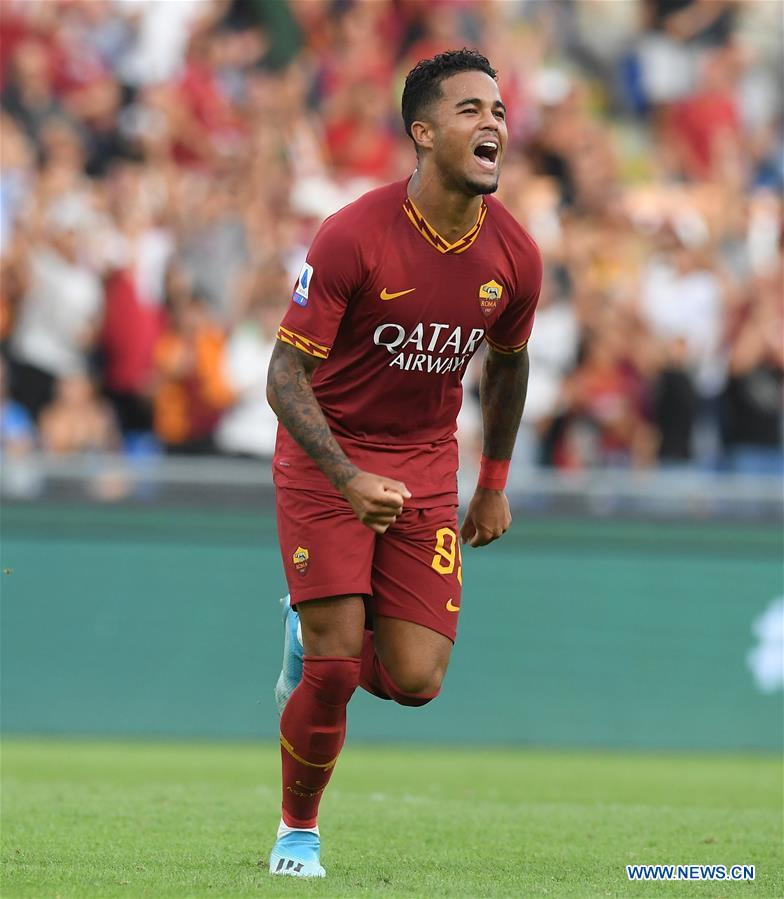 Roma beats Sassuolo 4-2 at Serie A soccer match