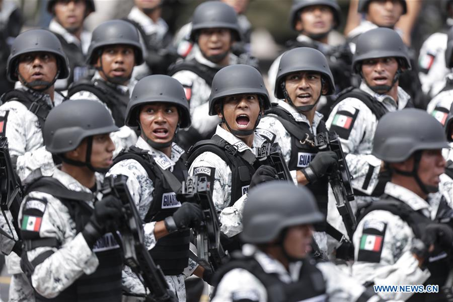 Mexico marks Independence Day with military parade