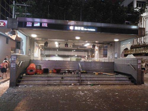 Police arrest 1,400 since June, 89 for weekend's violence at illegal protest