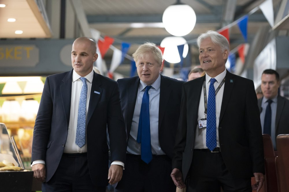 Johnson says he can see 'shape' of a Brexit deal