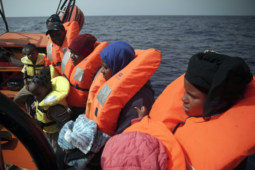 Mediterranean migrant rescues, deaths; French camp emptied