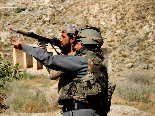 Afghan security force starts military operation against IS