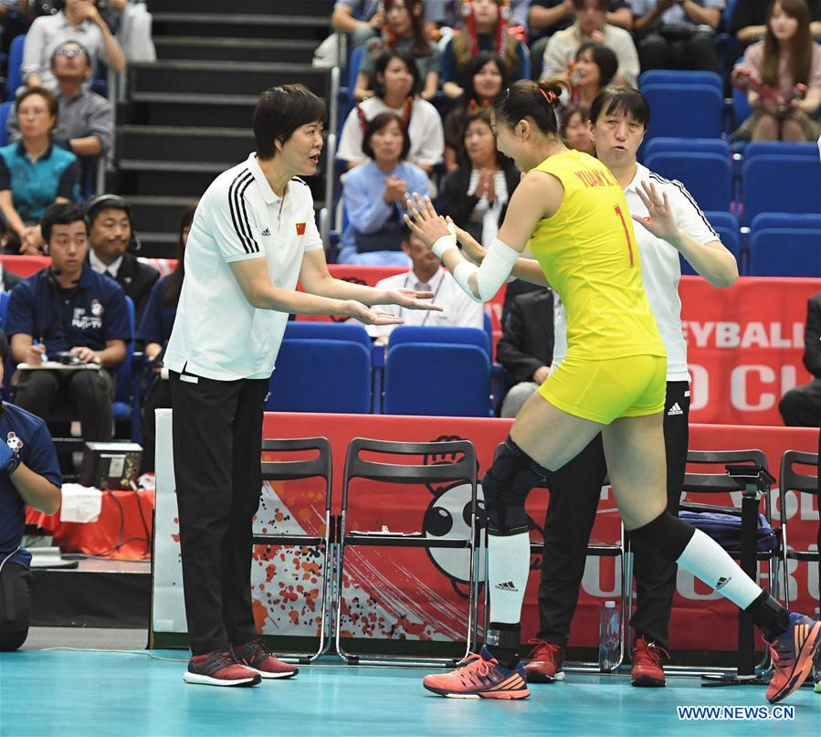 In pics: Round Robin match between China, Japan at FIVB Women's World Cup