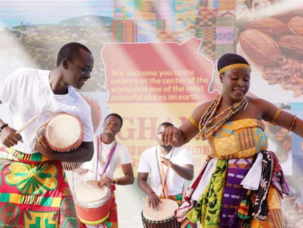 Beijing expo holds 'Ghana Day' event