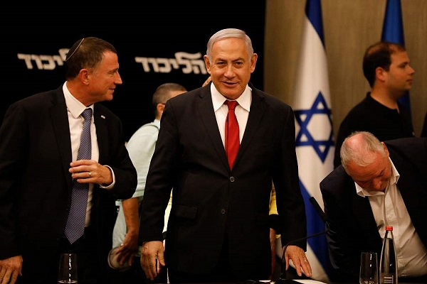 Netanyahu urges rival Gantz to form unity government with him